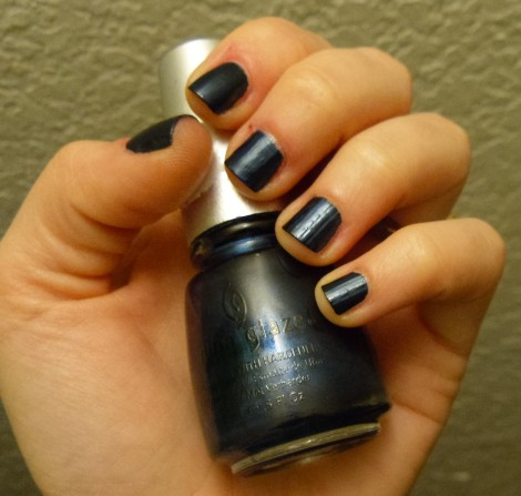 China Glaze - Little Drummer Boy