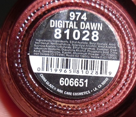 China Glaze Digital Dawn Tronica