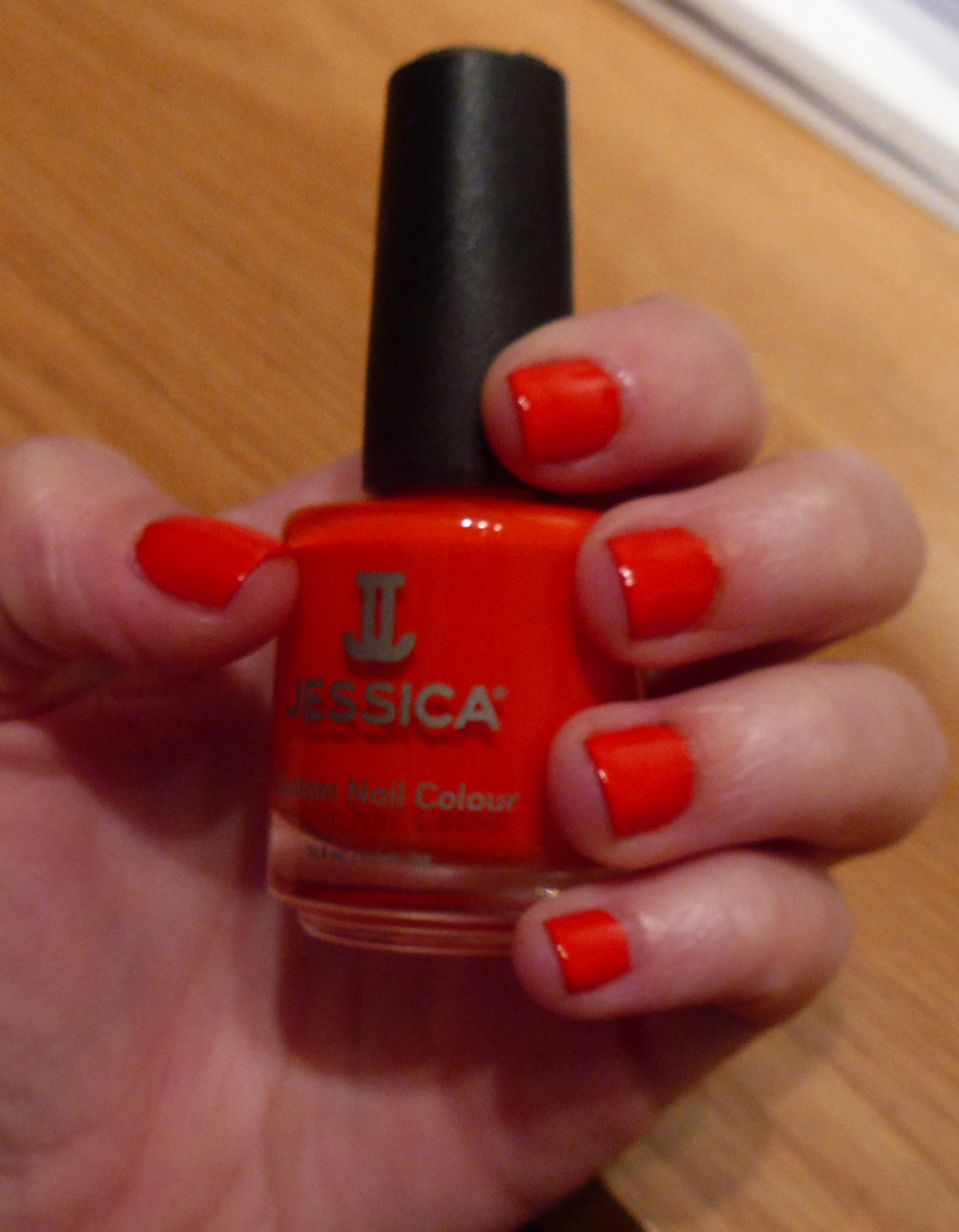 JESSICA nail polish: Orange You Glad to See Me – You can have it all.
