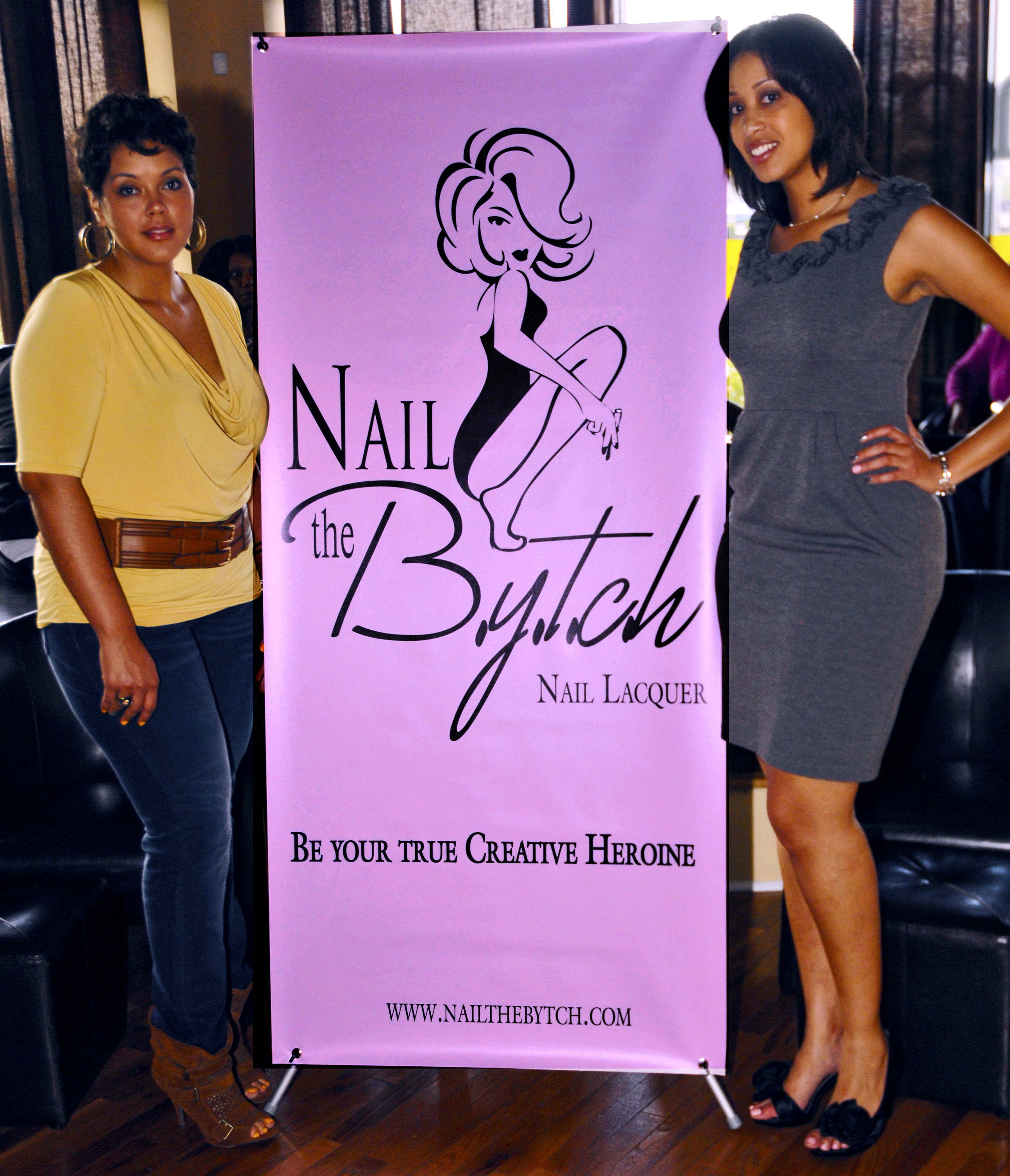 Nail the B.Y.T.C.H. (Be Your True Creative Heroine) polish – You can ...