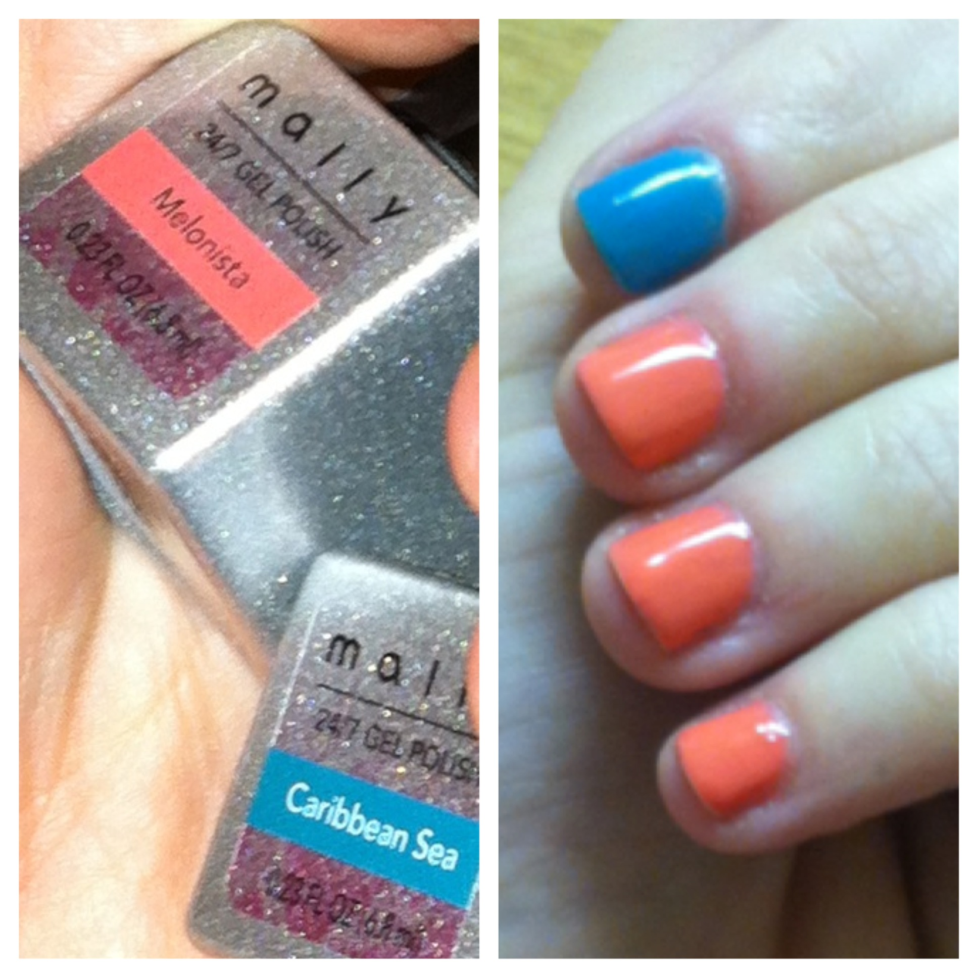 Mally 24/7 Gel Polish Nail Color photos and review – You can have it ...