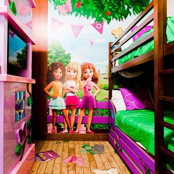 lego friends room theme now available to book at legoland On lego friends room decor