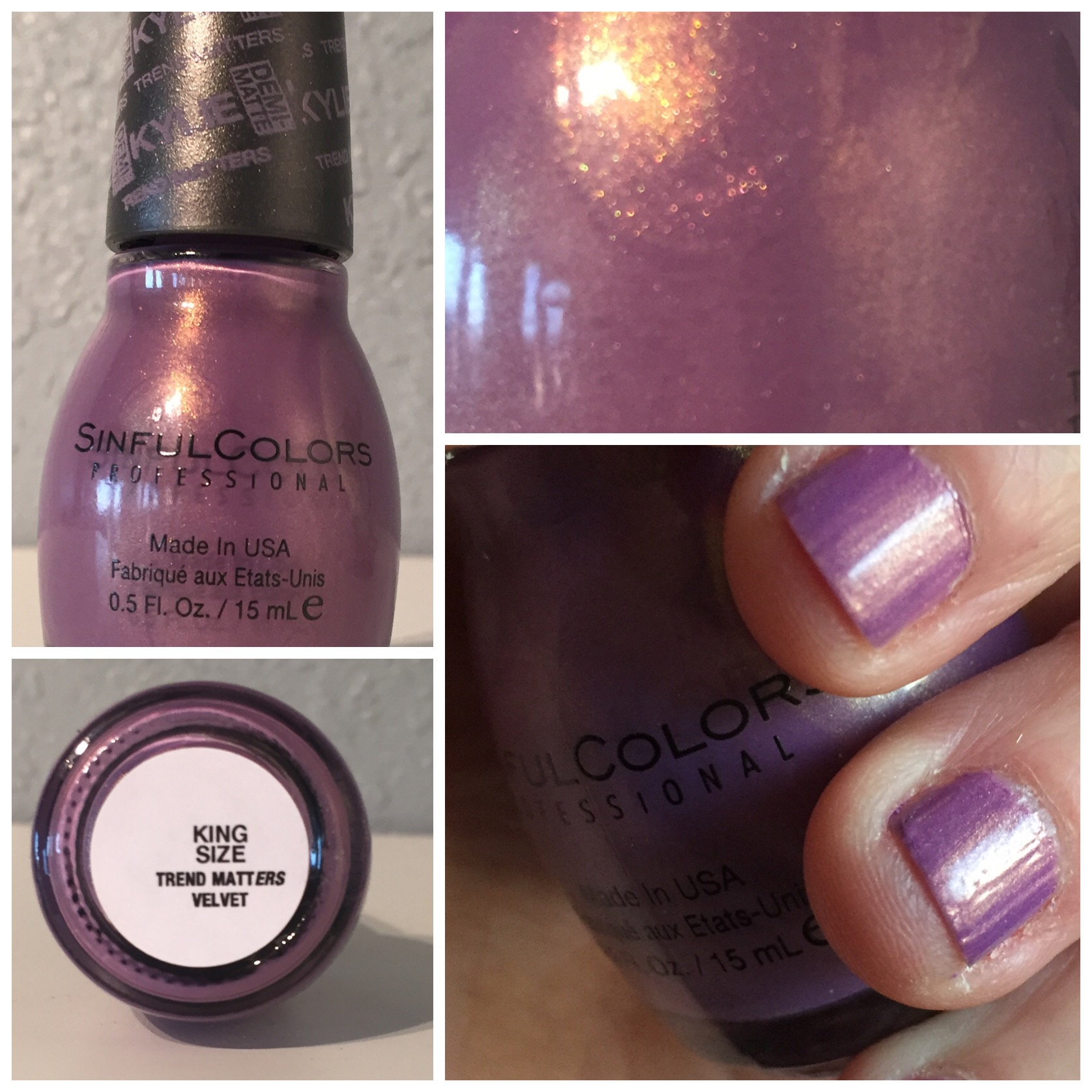 purple nail polish – You can have it all.